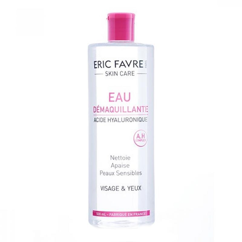 Apa demachianta Eric Favre Skin Care, 500 ml, acid hialuronic 2021 shopu.ro