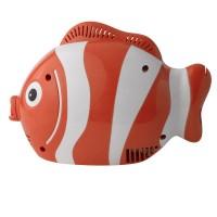 Aparat aerosoli cu compresor RedLine Healthy Fish, MMAD 2.44 µm, forma jucausa apreciata de copii