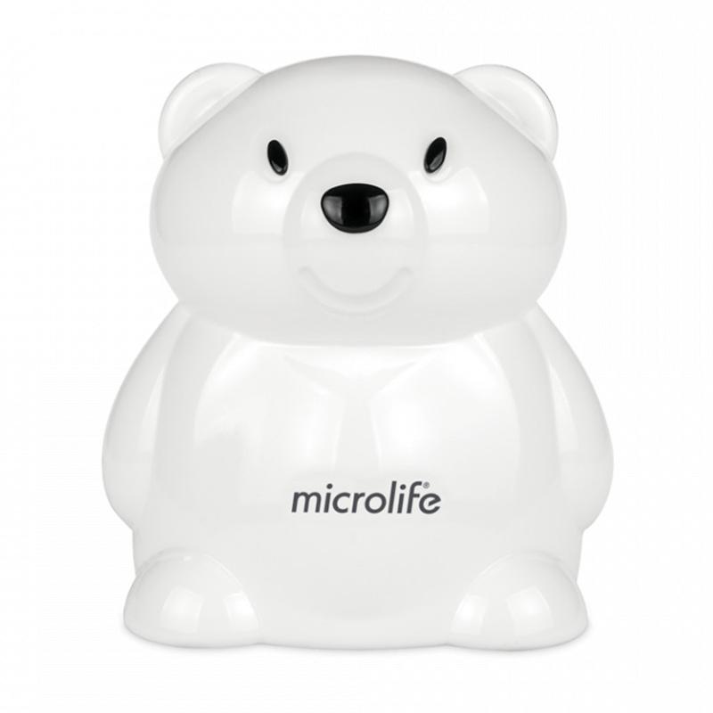 Aparat aerosoli cu compresor White Bear Microlife, debit aer 15 l/min, model ursulet 2021 shopu.ro