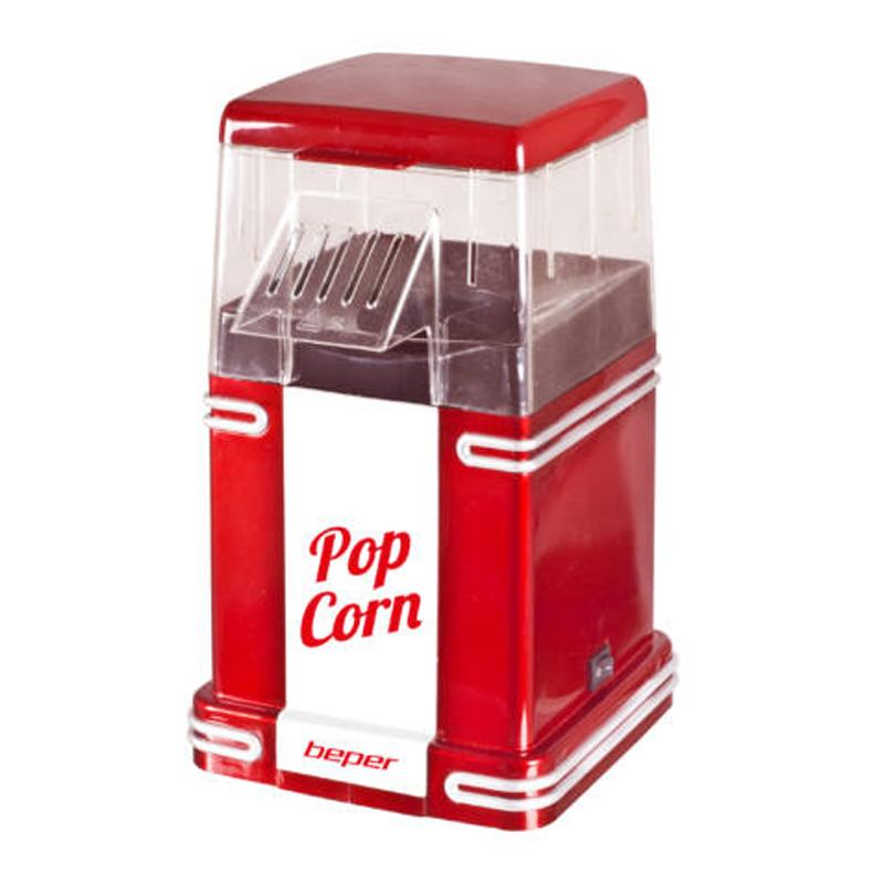 Aparat de facut popcorn Beper, 1200 W, capac detasabil 2021 shopu.ro