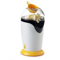 Aparat de facut popcorn, Relia, 1200 W, fara ulei, dozator boabe inclus
