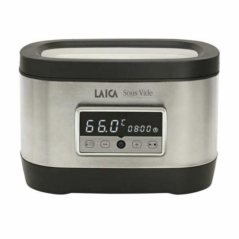 Aparat de gatit Sous Vide Laica SVC200, 700 W, 8 l, display LED, tehnologie Touch Sensor 2021 shopu.ro