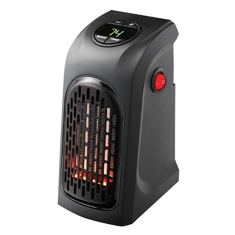 Aeroterma portabila Heater, 400 W, display digital 2021 shopu.ro