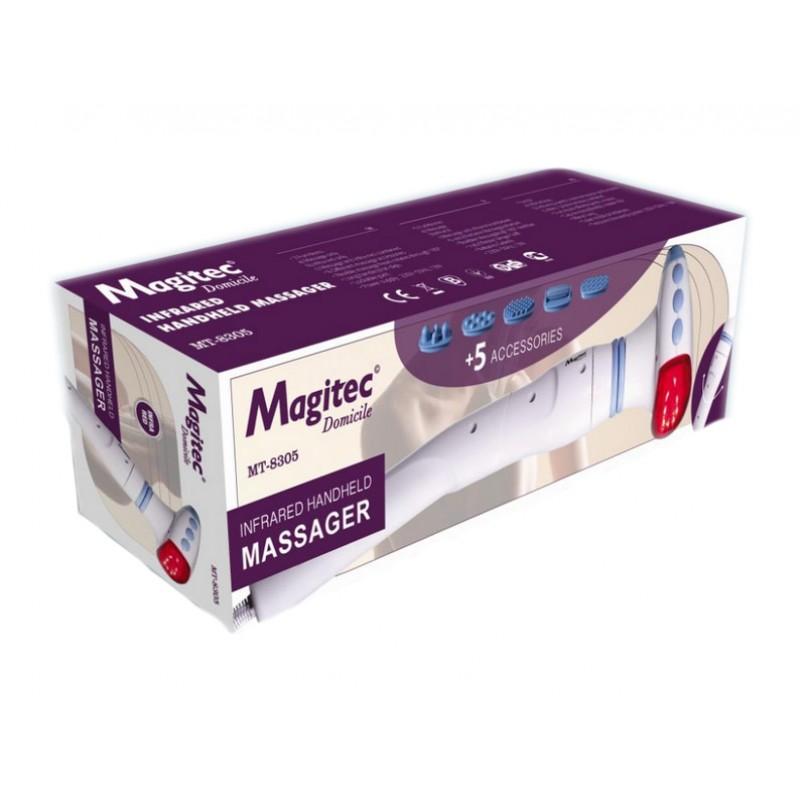 Aparat de masaj Magitec MT8305, 6 accesorii