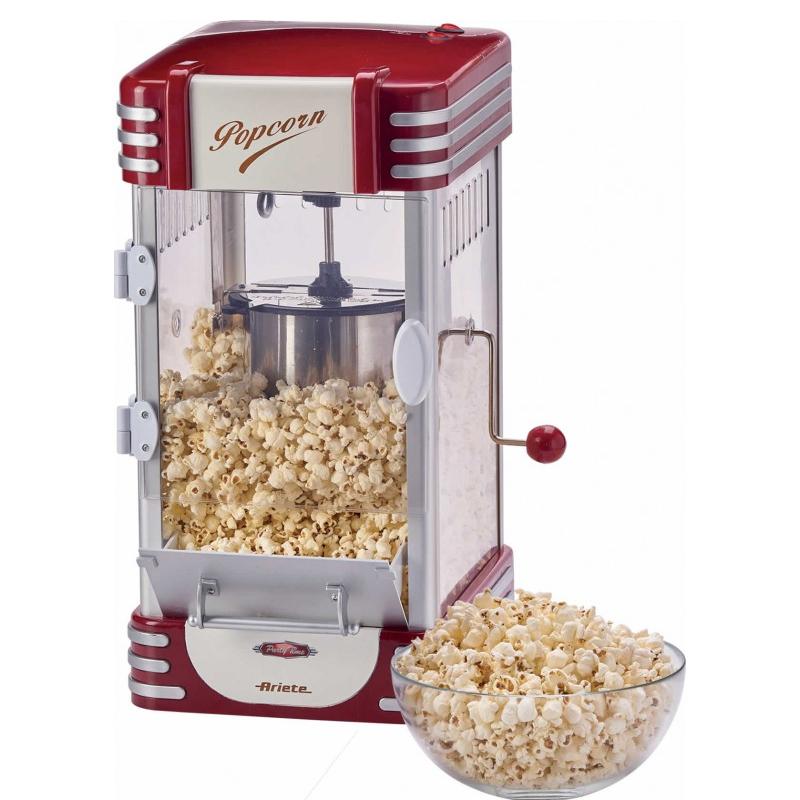 Aparat de popcorn Ariete XL, 310 W, 700 g, indicator LED, Rosu 2021 shopu.ro
