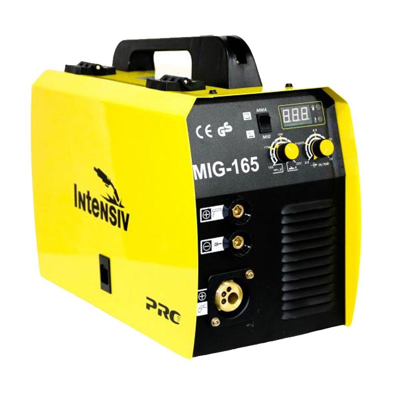 Aparat de sudura Intensiv MIG 165, 160 A, 4.5 kVA, MIG, MAG, MMA, electrod 1.6 - 3.2 mm, IP 21 2021 shopu.ro
