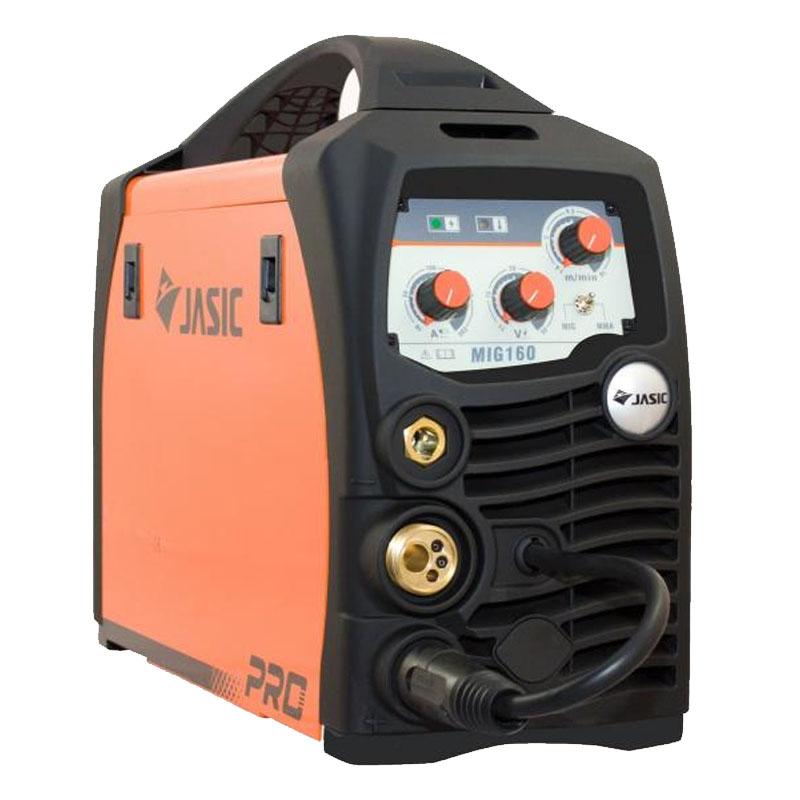 Aparat de sudura Jasic MIG 160 N219, 160 A, 7.1 kW, MMA, MIG, MAG, electord 1.6 - 3.2 mm, IP22S 2021 shopu.ro
