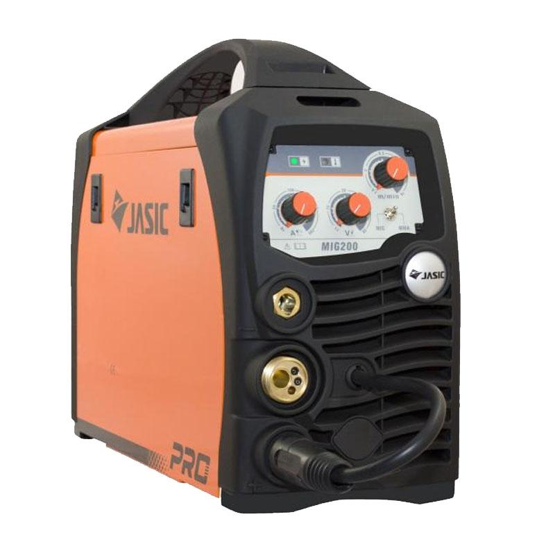 Aparat de sudura Jasic MIG 200 N220, 200 A, 9.4 kVA, electrod 1.6 - 4 mm, IP 21, protectie termica shopu.ro