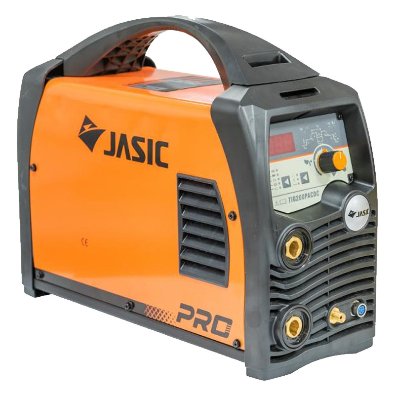 Aparat de sudura Jasic TIG 200P E201, 200 A, 7.1 kVA, TIG, MMA, electrod 1.6 - 3.2 mm, IP 22S, control digital