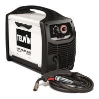 Aparat de sudura Telwin Maxima 160, 150 A, sarma 0.6 - 1.2 mm, MIG, MAG, IP 23, reglare sinergica
