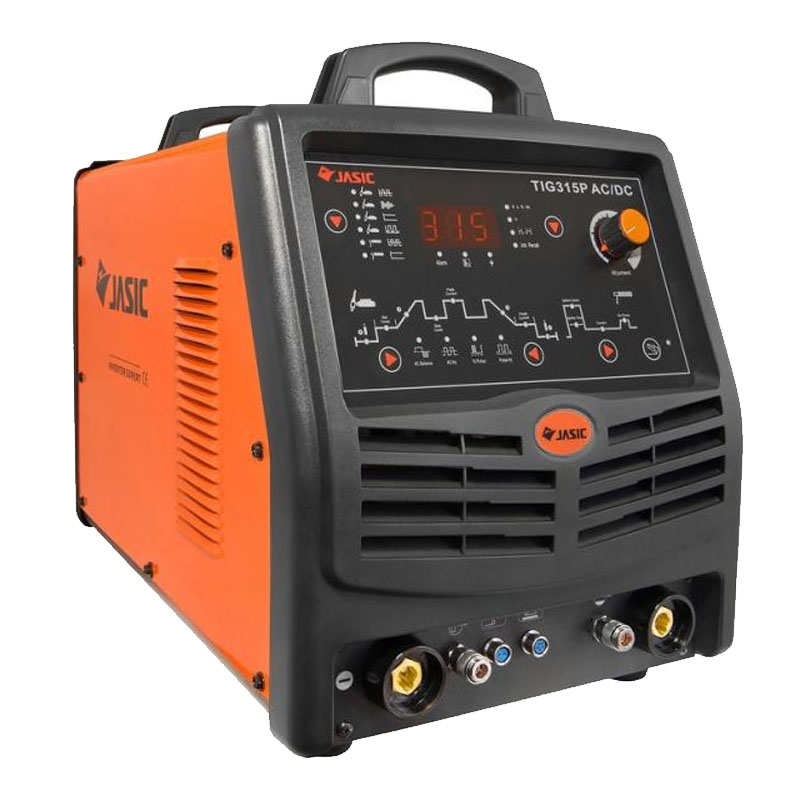 Aparat de sudura racit cu apa Jasic TIG 315P E106, 320 A, 10 kW, electrod 1.6 - 4 mm, IP 21S, afisaj digital shopu.ro