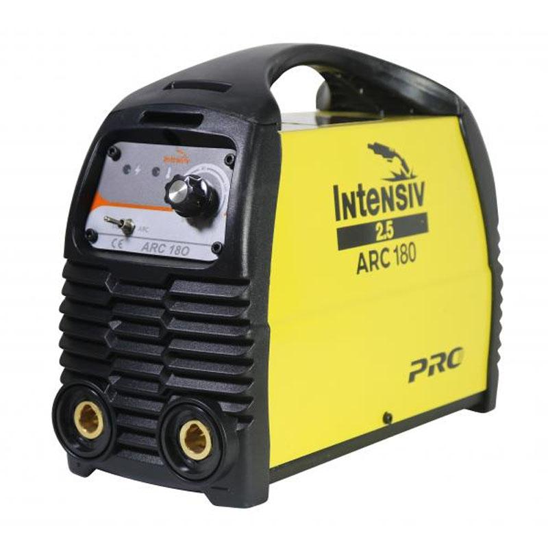 Aparat de sudura tip invertor Intensiv ARC 180, 8 kVA, 180 A, electrod 1.6 - 4 mm, IP 21 shopu.ro