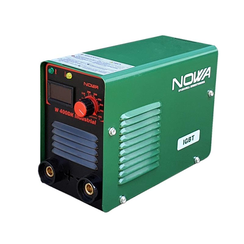 Aparat de sudura tip invertor MMA Nowa 400DK, 400 A, display LCD, electrod 1.6 - 5 mm, valiza transport shopu.ro