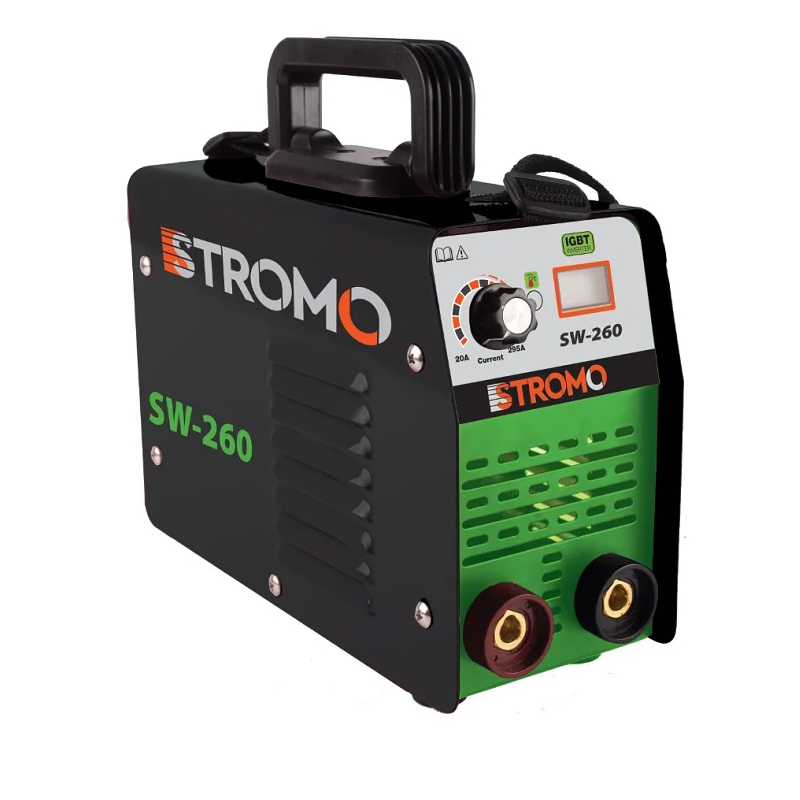 Aparat de sudura tip invertor MMA Stromo, 260 A, electrod 1.6-4 mm, LCD shopu.ro