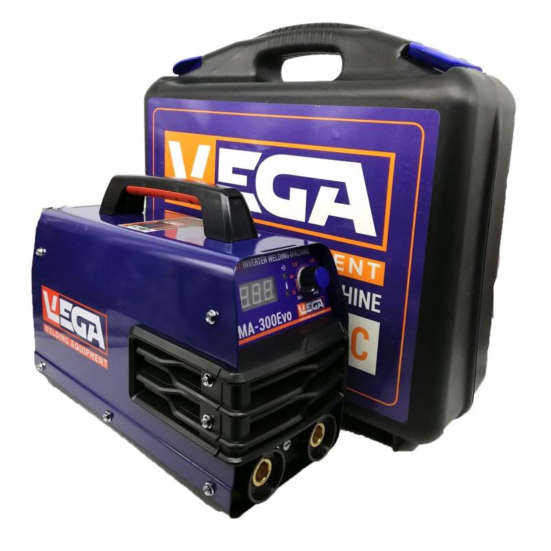 Aparat de sudura tip invertor MMA Vega, 300 A, electrozi 1.6-5 mm, ecran digital, valiza transport 2021 shopu.ro