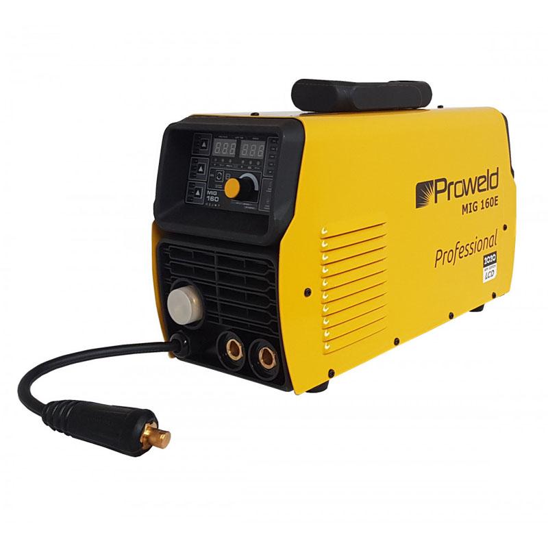 Aparat de sudura tip invertor ProWeld MIG160E, 160 A, 7.3 kVA, MIG, TIG, MMA, IP 21S