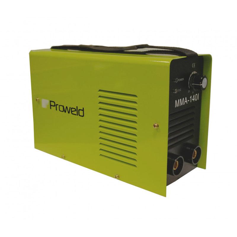 Aparat de sudura tip invertor ProWeld MMA-140I, 140 A, 5.5 kVA, 50 Hz, IP 21, conectori TEB 10-25 shopu.ro
