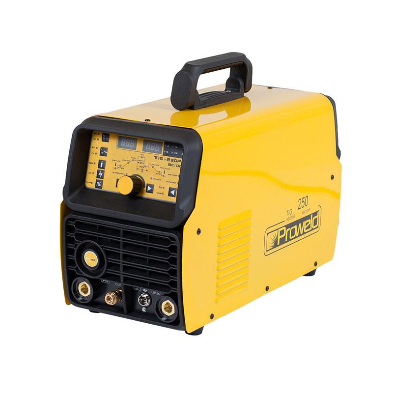 Aparat de sudura tip invertor ProWeld TIG-250P, 220 A, 11.2 kVA, electrozi 2.5 - 5 mm, IP 21, ventilare fortata