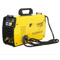 Aparat de sudura tip invertor ProWeld TIG-250WP, 220 A, 7.5 kW, monofazat, afisaj electronic, IP 21S