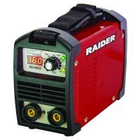 Aparat de sudura tip invertor Raider RD-IW22, 160 A, electord 1.5 - 4 mm, IP21S