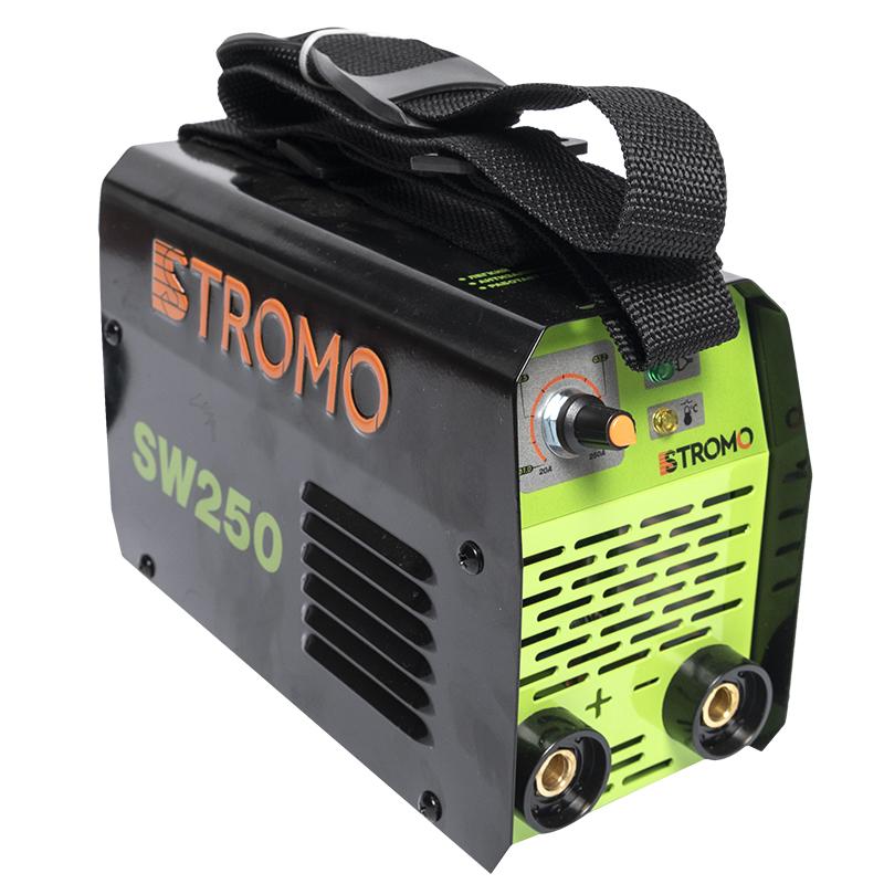 Aparat de sudura tip invertor Stromo SW250, 250 A, curent continuu, electrozi 1.6 - 4 mm 2021 shopu.ro