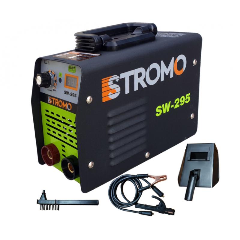 Aparat de sudura tip invertor Stromo, 295 A, curent continuu, carcasa plastic, valiza inclusa 2021 shopu.ro