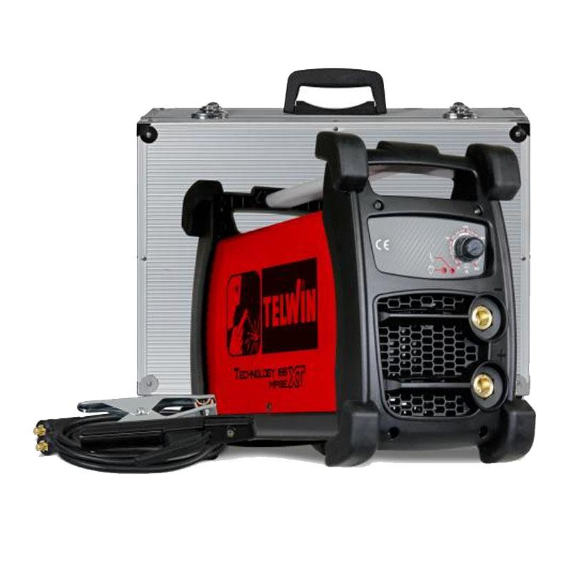 Aparat de sudura tip invertor Telwin Technology 186 MPGE XT CC, 160 A, 5 kW, electrozi 1.6 - 4 mm, IP 23 2021 shopu.ro