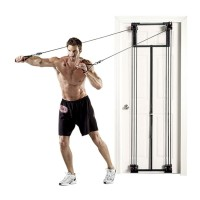Aparat fitness multifunctional You Gotta Gym, suporta maxim 90 kg, corzi cauciuc