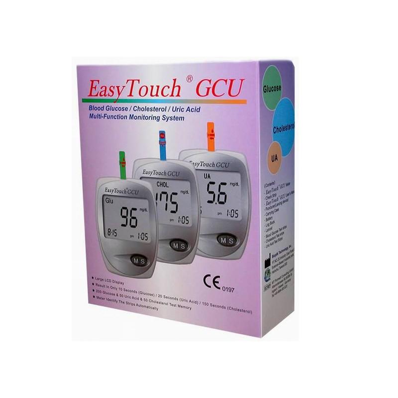 Aparat glicemie colesterol si acid uric EasyTouch GCU