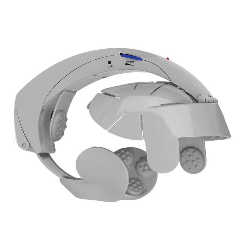 Aparat pentru masaj capilar Gama LY-617E, 3 baterii AAA 2021 shopu.ro
