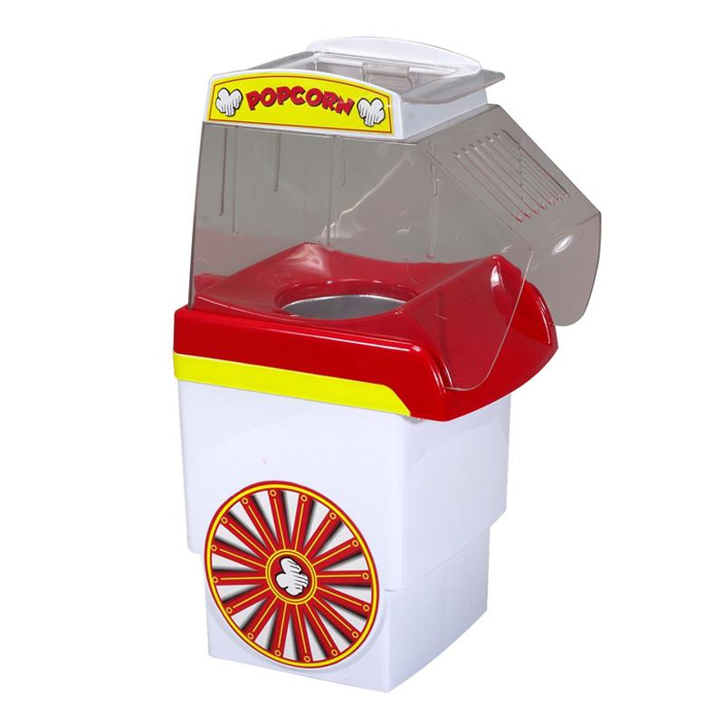 Aparat pentru popcorn, 1200 W, 0.27 l, Alb/Rosu