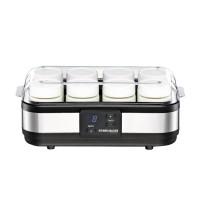 Aparat pentru preparat iaurt Rommelsbacher, 40 W, LED, 1200 ml, timer