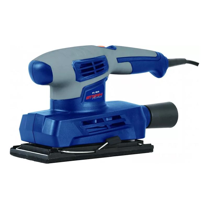 Aparat de slefuit cu vibratii Stern, 160 W, 12000 rpm, 90 x 187 mm, prindere tip Velcro 2021 shopu.ro