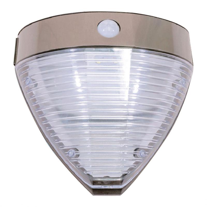 Aplica solara transparenta Hoff, senzor de miscare, LED, 2.2 W, 20.5 x 9.4 x 20 cm shopu.ro