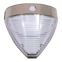 Aplica solara transparenta Hoff, senzor de miscare, LED, 2.2 W, 20.5 x 9.4 x 20 cm