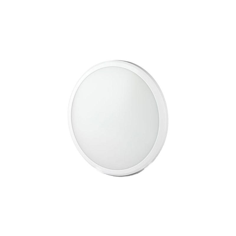 Aplica LED cu senzor, 12 W, 4000 K, 1440 Im, lumina alb neutru, forma rotunda, Alb shopu.ro