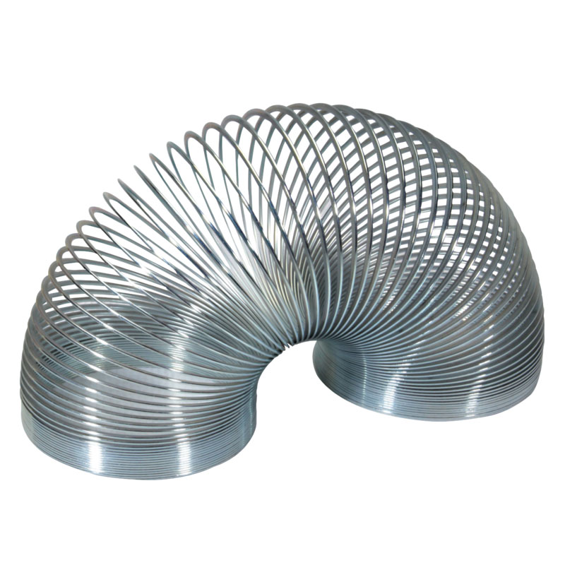 Arc de metal Slinky Keycraft, alama argintie, 6 cm, 3 ani+ 2021 shopu.ro