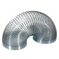 Arc de metal Slinky Keycraft, alama argintie, 6 cm, 3 ani+