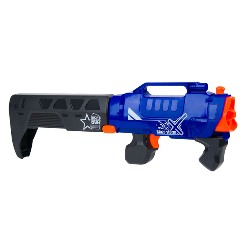 Arma de jucarie Blaze Storm, 47 x 14 cm, 20 gloante de spuma 2021 shopu.ro