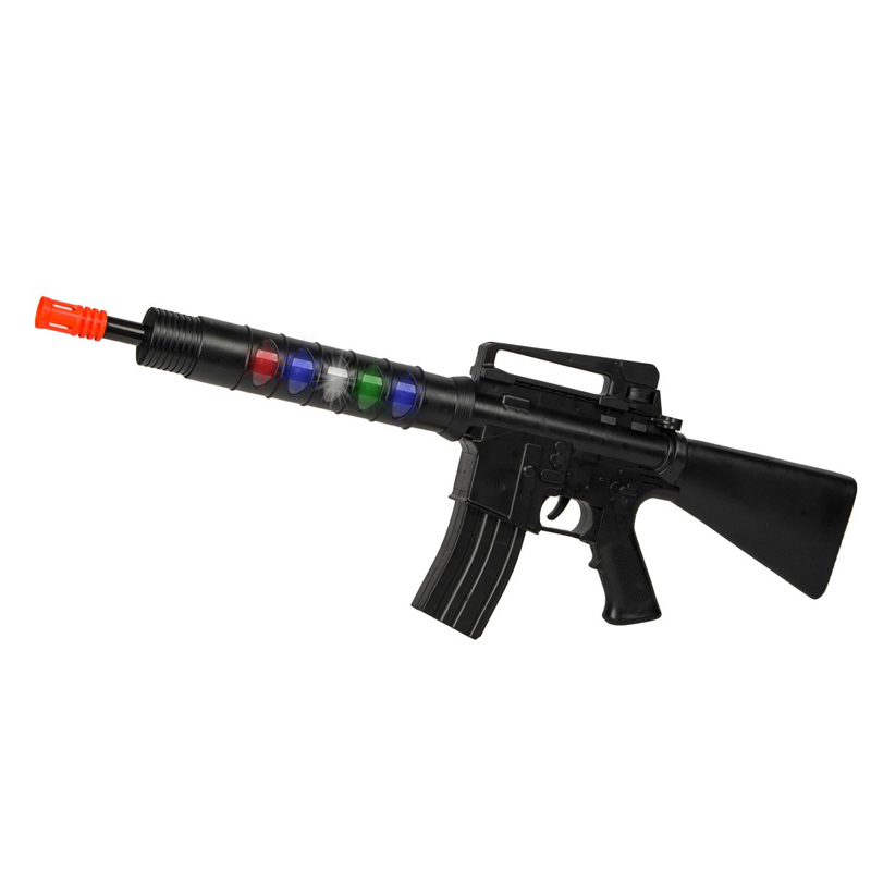 Arma de jucarie Police Gun, 75 cm, sunet si lumini, 3 ani+ 2021 shopu.ro
