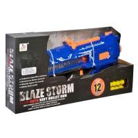 Arma de jucarie cu bile Blaze Storm, 12 bile incluse