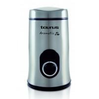 Rasnita de cafea Aromatic Taurus, 150 W, 50 g, buton Puls, Inox