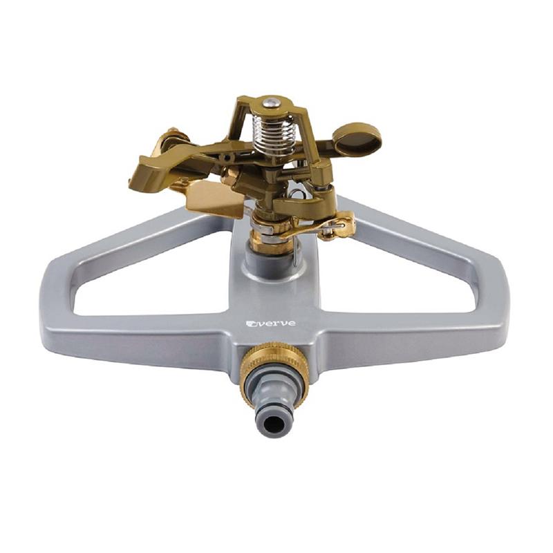 Aspersor pulsator Verve, metal, raza actiune 300 mp, forma rotunda shopu.ro
