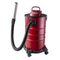 Aspirator cenusa Raider, 1200 W, 30 l, 18 kPa, 1500 l/min, corp metalic