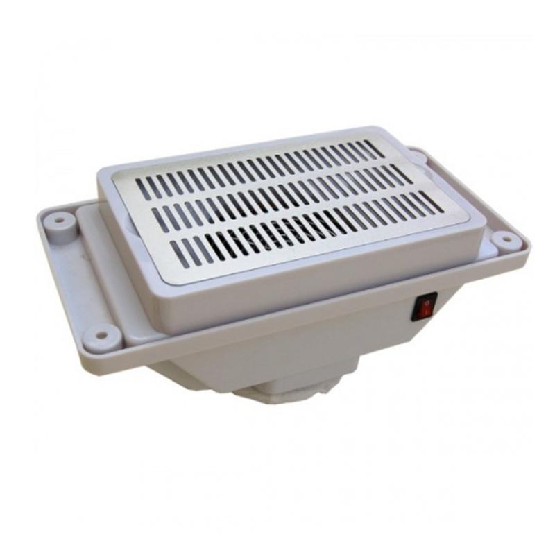 Aspirator incorporabil pentru masa manichiura Yorkma YM-8A, 30 W, ventilator puternic