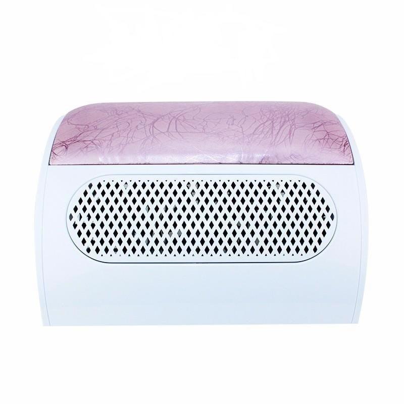 Aspirator manichiura Lidan, 3 ventilatoare, colector praf, roz 2021 shopu.ro