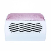 Aspirator manichiura Lidan, 3 ventilatoare, colector praf, roz