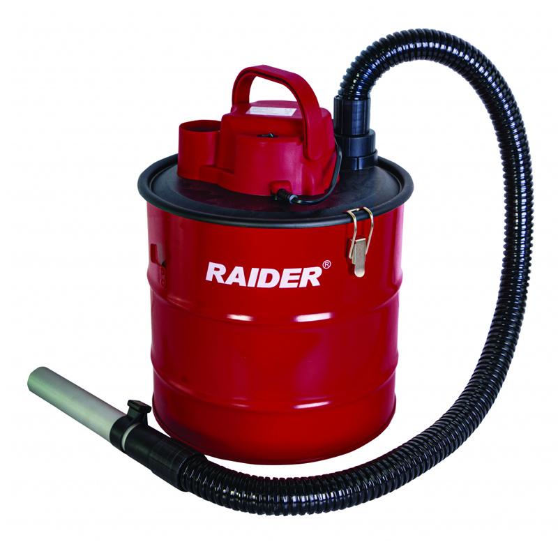 Aspirator uscat pentru cenusa Raider, 1000 W ,18 l, 1488 l/min, 15.5 kPa, Rosu 2021 shopu.ro