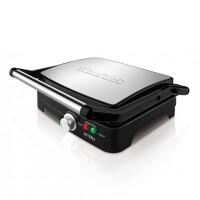 Gratar electric Asteria Taurus, 2200 W, LED, placi grill, termostat, Inox