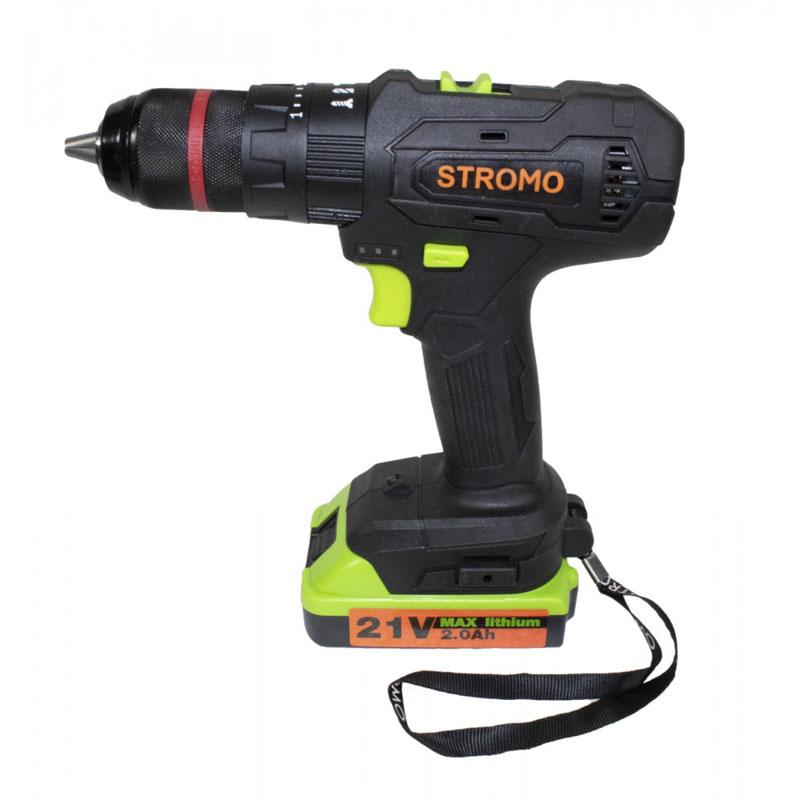 Autofiletanta Stromo SA214Li, 21 V, 37 Nm, 1150 rpm, 2 acumulatori